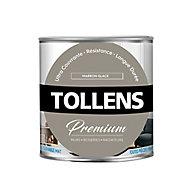 Peinture Tollens premium murs, boiseries et radiateurs marron glacé mat 0,75L