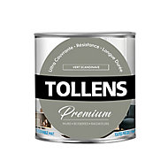Peinture Tollens premium murs, boiseries et radiateurs vert scandinave mat 0,75L