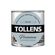 Peinture Tollens premium murs, boiseries et radiateurs bleu givré mat 0,75L