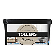 Peinture Tollens premium murs, boiseries et radiateurs beige naturel mat 2,5L