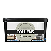 Peinture Tollens premium murs, boiseries et radiateurs vert subtil mat 2,5L