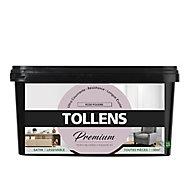 Peinture Tollens premium murs, boiseries et radiateurs rose poudré satin 2,5L