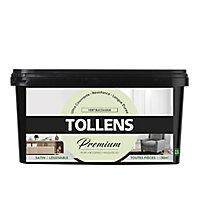 Peinture Tollens premium murs, boiseries et radiateurs vert bucolique satin 2,5L