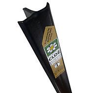 Poteau Cloe noir 30 x 40mm H. 1,45 m
