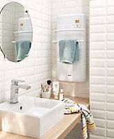 Radiateur sèche-serviettes électrique soufflant Noirot Concilia 1300W