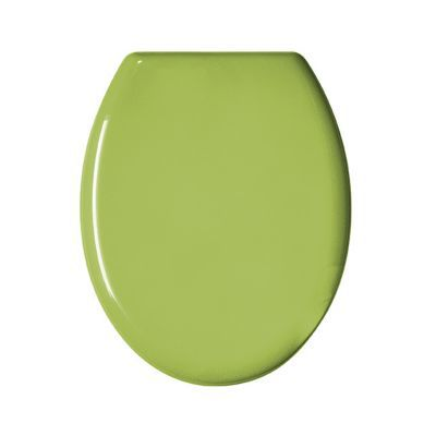 Abattant WC plastique anis GELCO Color