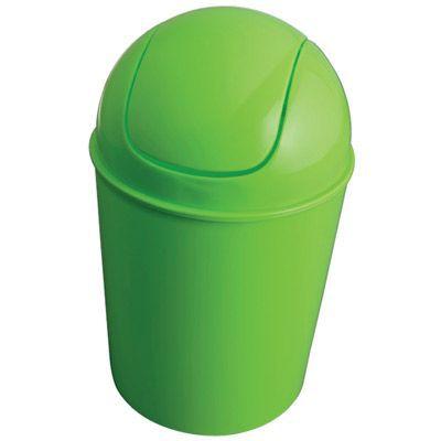 Poubelle à bascule vert GELCO Infinity 3L