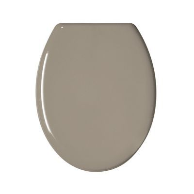Abattant WC plastique taupe GELCO Color