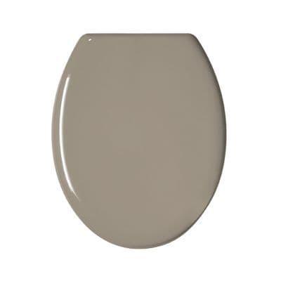 Abattant WC plastique taupe GELCO Color