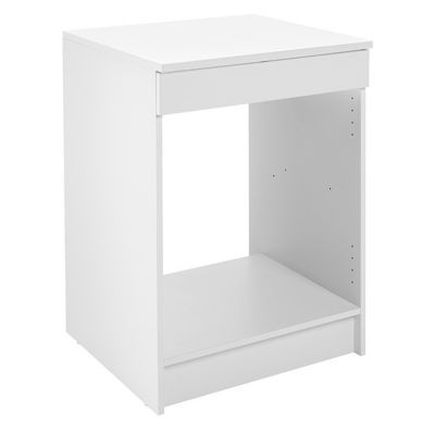 Meuble Bas Four Blanc Primalight  Cm  Castorama