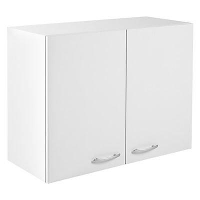 Meuble Haut 2 Portes Blanc Primalight 80 Cm Castorama