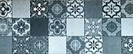 Paillasson intérieur Carreaux de ciment gris 50 x 120 cm