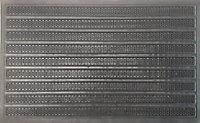Tapis caoutchouc technitip 45 x 75 cm
