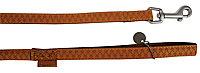Laisse Mc Leather 15mm L.1,2 m jaune
