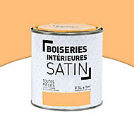 Peinture Murs et boiseries Abricot Satin 0,5L