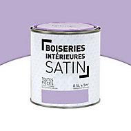 Peinture Murs et boiseries Bonbon violette Satin 0,5L