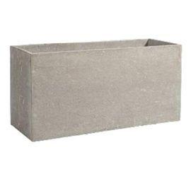muret fibre de pierre deroma gypse gris 100 x 35 x cm. Black Bedroom Furniture Sets. Home Design Ideas