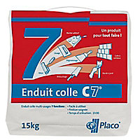 Enduit colle multi-usage Placo C7 15kg
