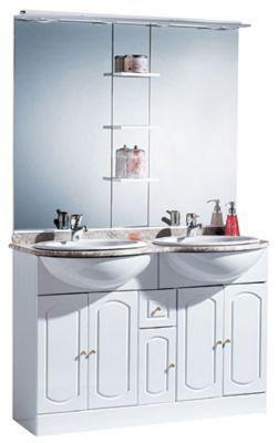 castorama meuble salle de bain rimini