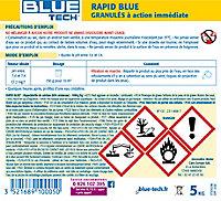 Granulés traitement choc Blue tech Rapid blue 5kg