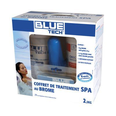 Coffret Brome Spa BLUE TECH