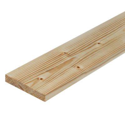 Planche en sapin rabot 19 x 112 mm l 2 4 m castorama - Planche de coffrage castorama ...