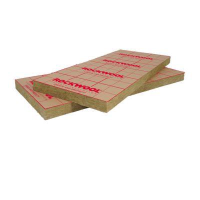 panneau laine de roche rockwool rockmur kraft 0 6 x 1 35 m mm vendu au panneau castorama. Black Bedroom Furniture Sets. Home Design Ideas