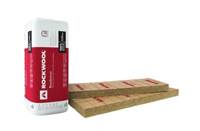 Panneau laine de roche rockwool rockmur kraft 06 x 135 m ép.45 mm