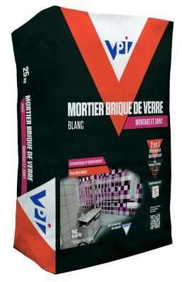 Mortier montage brique de verre 25kg castorama - Montage brique de verre exterieur ...