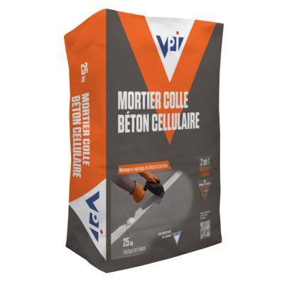 Mortier Colle Béton Cellulaire Vpi 25kg Castorama