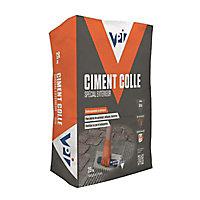 Ciment colle spécial extérieur gris 25kg