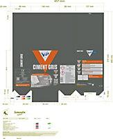 Ciment VPI gris 2,5 kg