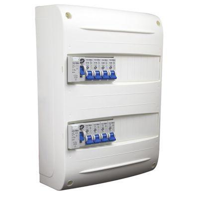 Tableau électrique prééquipé 2 rangées NOV'ELEC