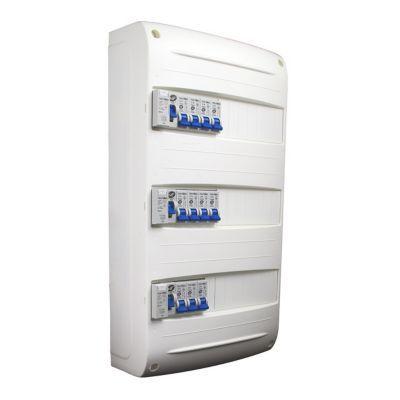 Tableau électrique prééquipé 3 rangées NOV'ELEC
