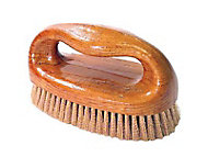 Brosse à poignée garnissage bronze