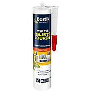 Mastic de Fixation Bostik MSP 118 pour Objets Lourds Blanc Cartouche 290 ml