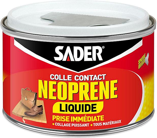 Colle Contact Neoprene Sader Liquide 250 Ml Castorama