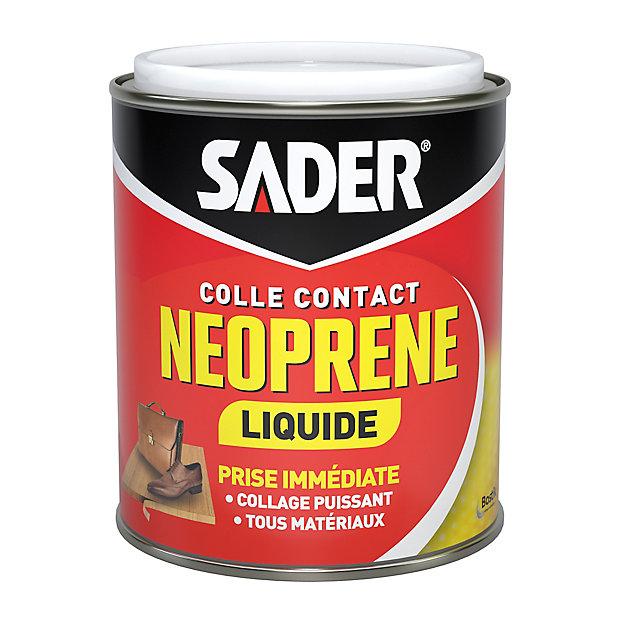 Colle Contact Neoprene Sader Liquide 750 Ml Castorama
