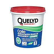 Colle Quelyd pour Revêtements Lisses de Rénovations Légers (jusqu'à 200g/m²) Pâte 1kg