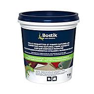 Colle Sols Souples Bostik pour Moquettes et Fibres naturelles Pâte 1 kg
