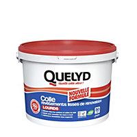 Colle Quelyd pour Revêtements Lisses de Rénovations Lourds (jusqu'à 750g/m²) Pâte 10kg