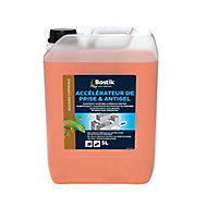 Traitement Bostik Accélérateur de Prise et Antigel pour Ciment et Mortier 5L