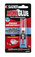 Colle de Réparation Sader Maxiglue Gel Tube 3 g