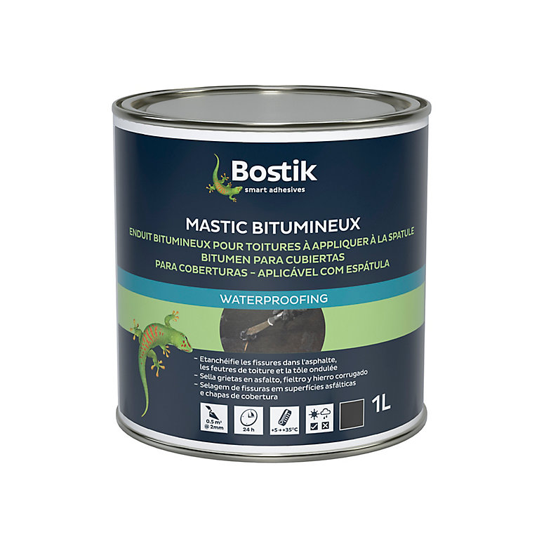 Etanchéité Bostik Mastic Bitumineux pour Toiture 0 1L | Castorama