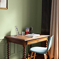 Peinture murs et boiseries Tollens Mise en teinte vert veronese mat velours 1L