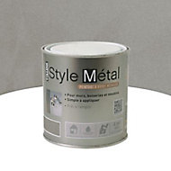 Peinture à effet métalisé Nickel 500ML