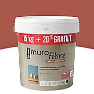 Enduit décoratif Murofibre Terre Rouge 15kg + 20%