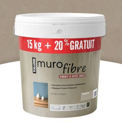 Enduit Décoratif Murofibre Toile De Lin 15kg 20 Castorama