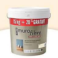 Enduit décoratif Murofibre Ecru 15kg + 20%