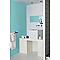 Peinture murs et boiseries Tollens Pantone 12-4608 clearwater satin 1L